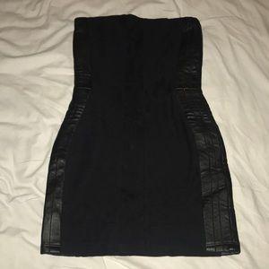 Sky topless black dress size M